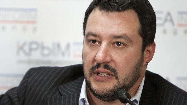 Matteo Salvini ha sempre condannato le sanzioni antirusse, - Sputnik Italia