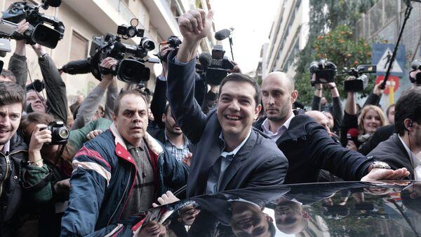 Primo ministro greco Alexis Tsipras/ gennaio 2015 - Sputnik Italia