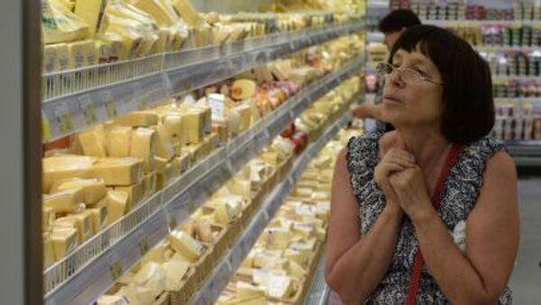 Il cibo fa parte, con il petrolio e le altre materie prime,  delle sanzioni appena proluingate fino ad aprile dell`anno 2016 - Sputnik Italia