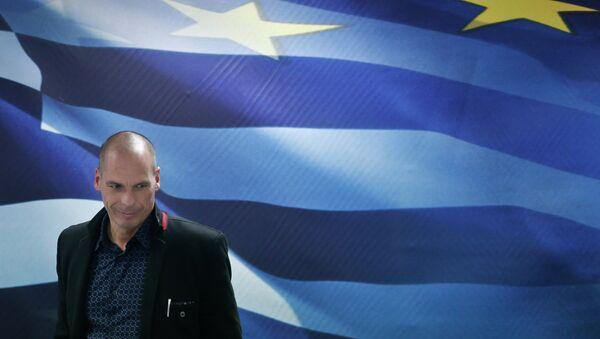 Il Ministro delle  Finanze greco Yanis Varoufakis - Sputnik Italia