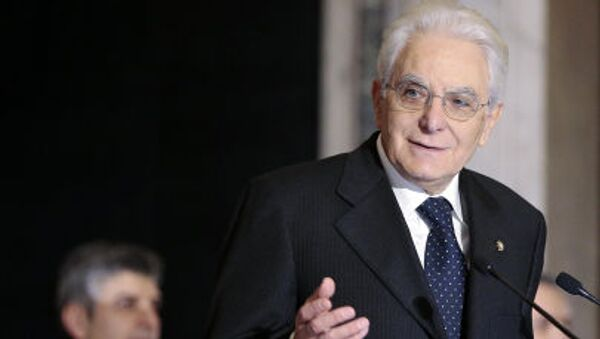 Presidente della Repubblica italiana Sergio Mattarella - Sputnik Italia