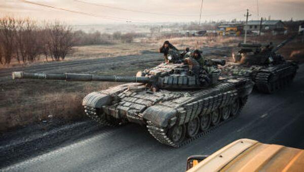 Miliziani della regione di Donetsk - Sputnik Italia