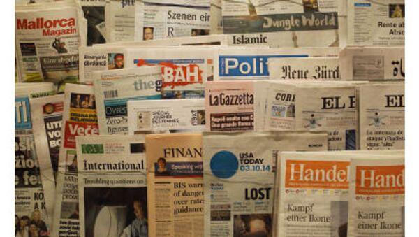 giornali nel chiosco - Sputnik Italia