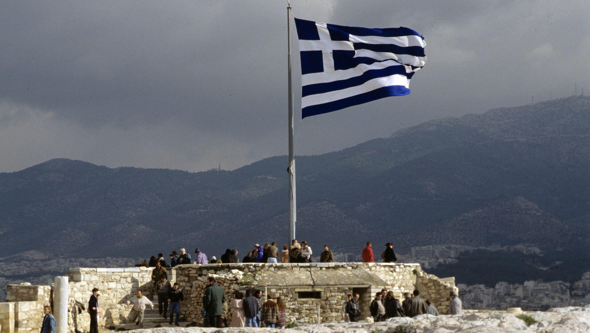 bandiera della Grecia - Sputnik Italia, 1920, 25.02.2021