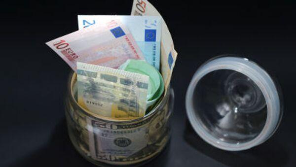 euro nel barattolo - Sputnik Italia