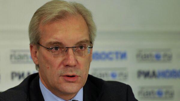 Rappresentante permanente della Russia alla NATO Alexander Grushko - Sputnik Italia