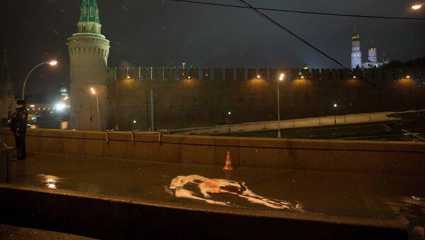 Mosca, luogo omicidio di Boris Nemtsov - Sputnik Italia
