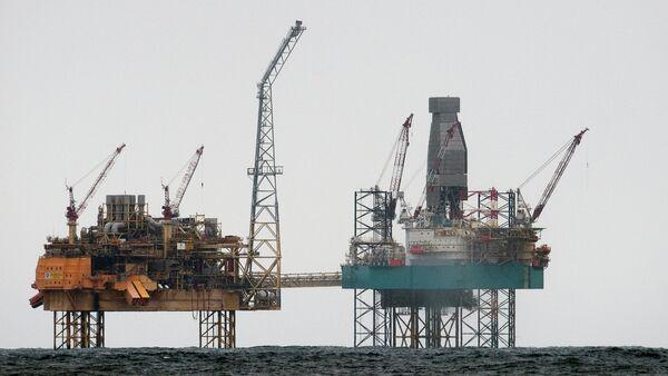 Piattaforme petrolifere, Mare del Nord - Sputnik Italia