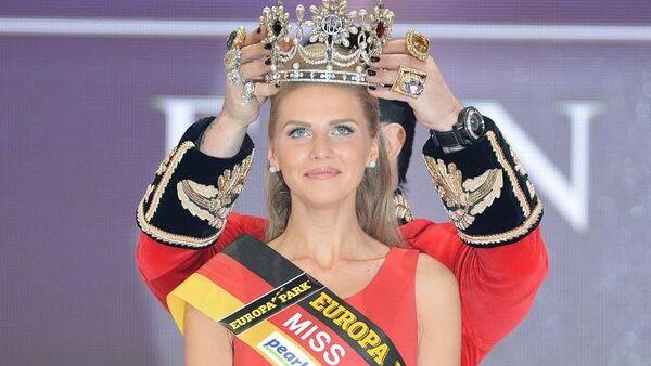 Olga Hoffmann, Miss Germania 2015 - Sputnik Italia