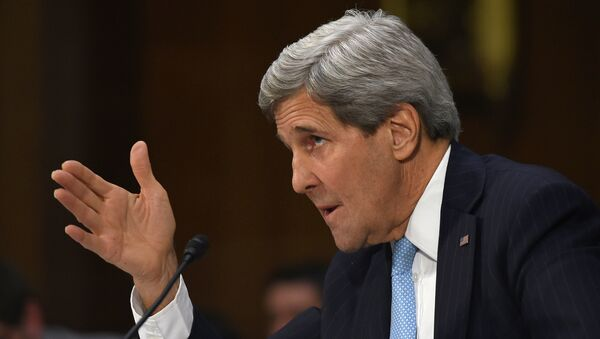 Segretario di Stato USA John Kerry - Sputnik Italia