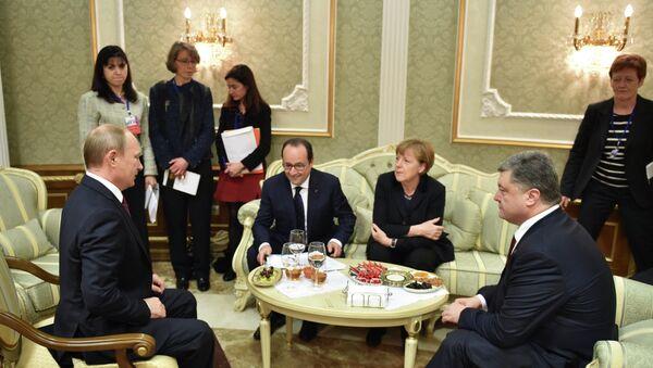 Quartetto della Normandia a Minsk - Sputnik Italia