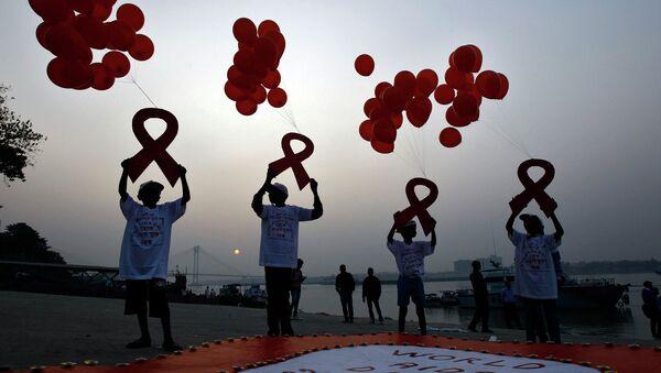AIDS, campagna per la sensibilizzazione sulla ricerca contro il virus HIV - Sputnik Italia