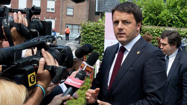 Matteo Renzi il primo ministro italiano - Sputnik Italia