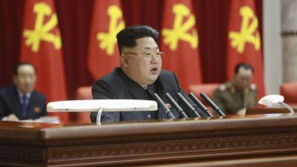 Высший руководитель КНДР Ким Чен Ын - Sputnik Italia