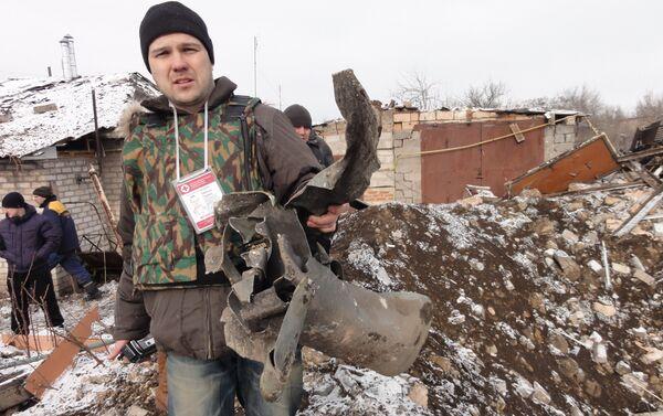 Evgenij Ganeev nel Donbass - Sputnik Italia