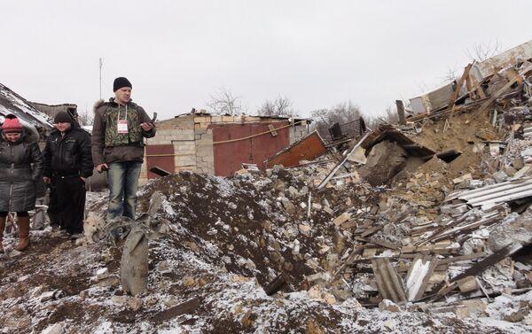 Donbass risultato di una bomba - Sputnik Italia