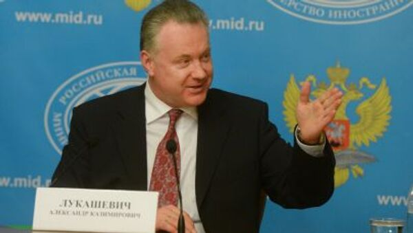 Il portavoce del Ministero degli Esteri russo Aleksander Lukashevich - Sputnik Italia