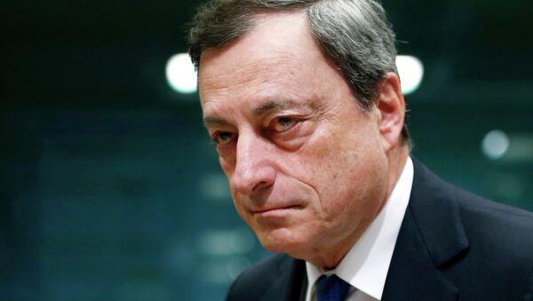 Il Presidente di BCE Mario Draghi - Sputnik Italia
