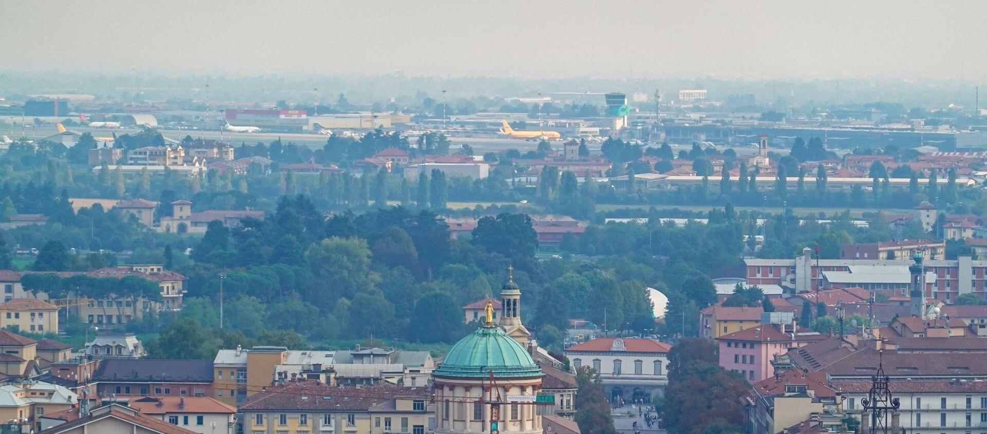 Vista sull'aeroporto di Bergamo - Sputnik Italia, 1920, 20.01.2021