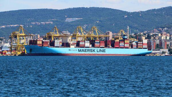 Una nave mercantile a Trieste - Sputnik Italia