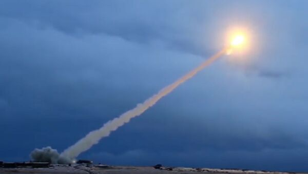 Испытания крылатой ракеты с ядерным двигателем «Буревестник». Архивное фото - Sputnik Italia
