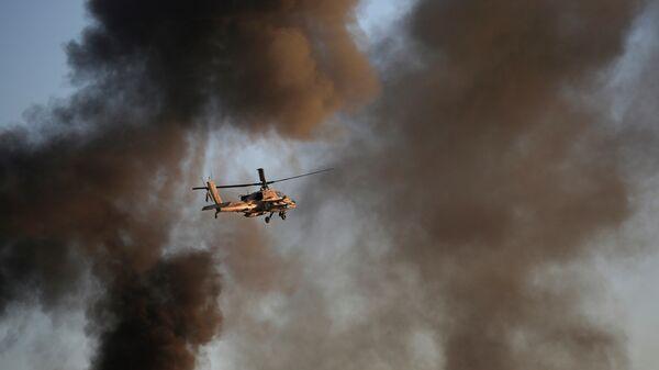 Elicottero Apache delle forze israeliane - Sputnik Italia