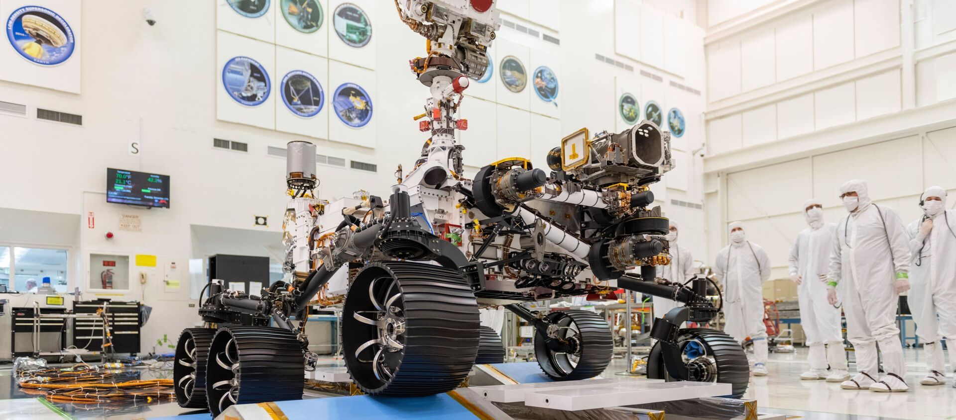 Il rover della NASA Perseverance - Sputnik Italia, 1920, 30.01.2021