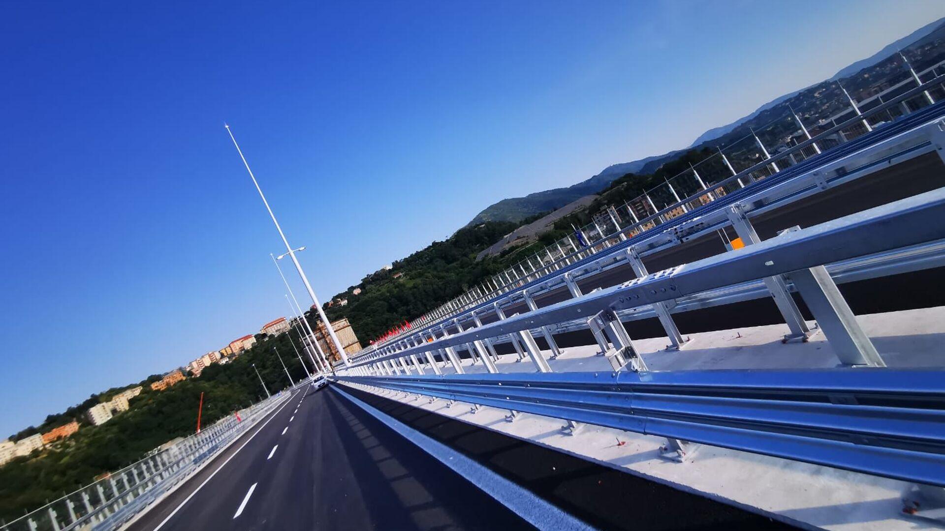 Il nuovo ponte di Genova San Giorgio - Sputnik Italia, 1920, 29.09.2021