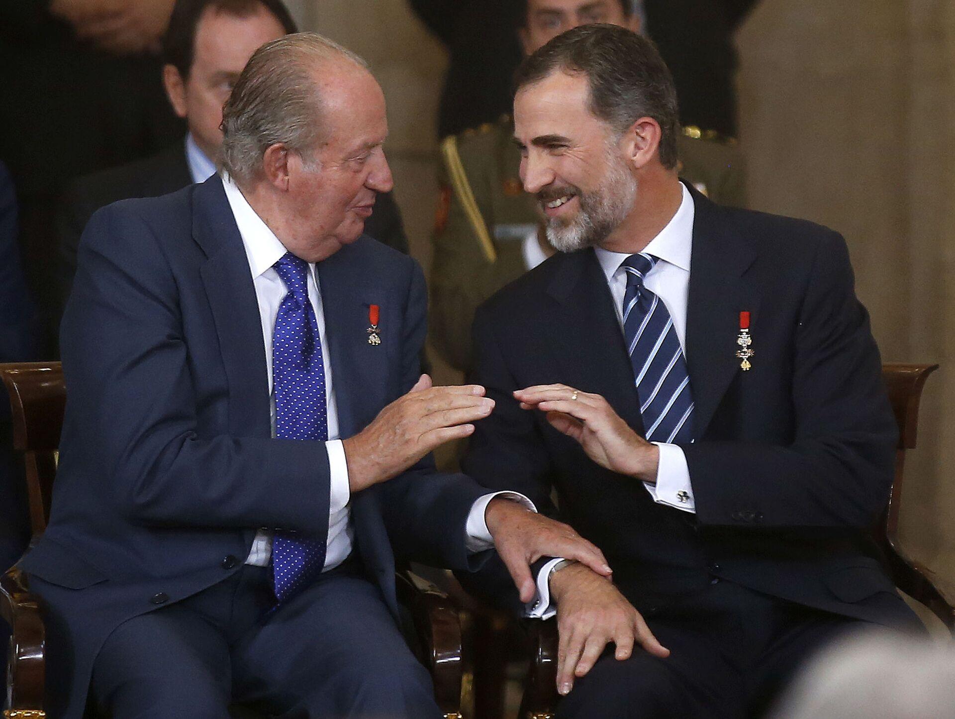Spagna, il Re emerito Juan Carlos paga altri 4 milioni di euro al fisco - Sputnik Italia, 1920, 26.02.2021