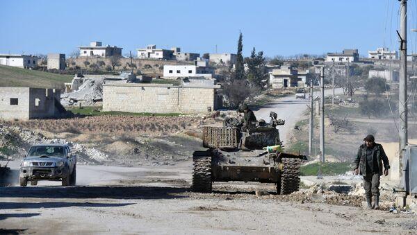 Militari siriani a sud del governatorato d'Idlib, archivi - Sputnik Italia