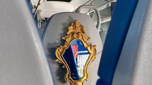 Specchio sui bus extra-urbani del Lazio - Sputnik Italia