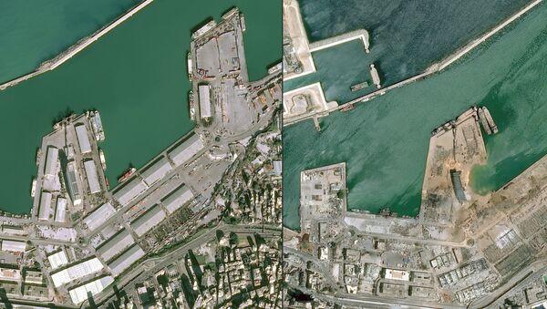 Beirut prima e dopo - Sputnik Italia