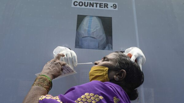 Coronavirus in India - Sputnik Italia