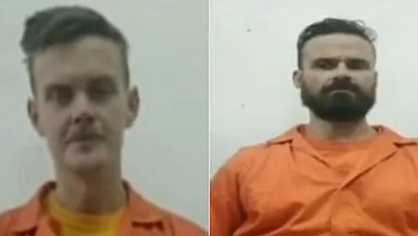 I mercenari statunitensi Luke Denman e Airan Berry. Screenshot dalla televisione venezuelana. - Sputnik Italia