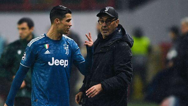 Cristiano Ronaldo e Maurizio Sarri - Sputnik Italia