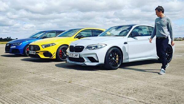La gara di accelerazione tra la BMW M2 CS, l'AMG A45 S e l'Audi RS3 - Sputnik Italia
