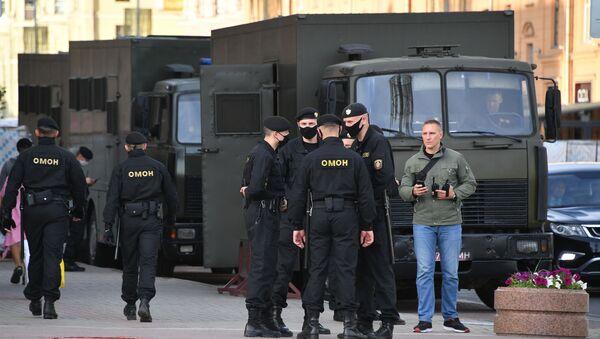 Policía de Bielorrusia (archivo) - Sputnik Italia