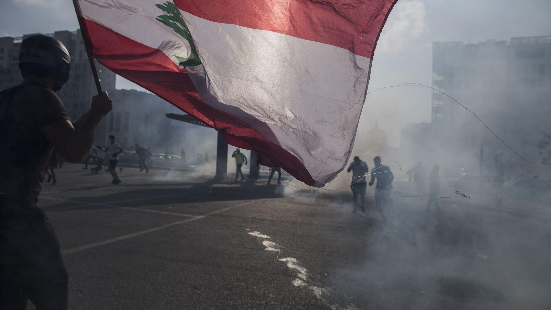 Manifestazioni a Beirut - Sputnik Italia, 1920, 14.10.2021