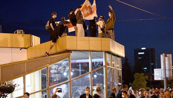 Le proteste a Minsk - Sputnik Italia