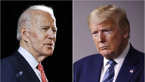 Joe Biden e Donald Trump candidati alla Casa Bianca - Sputnik Italia