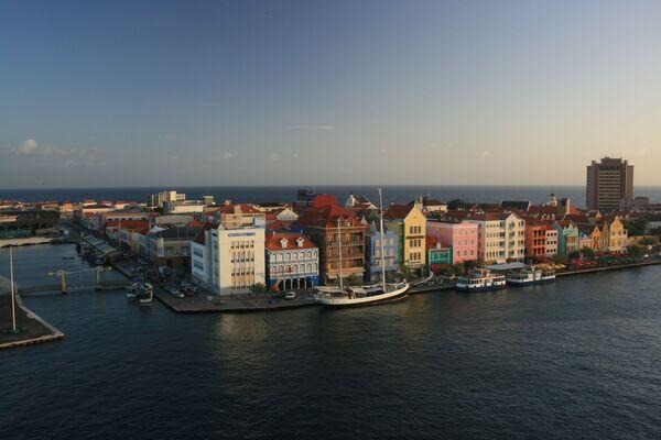 Una vista di  Willemstad, Curaçao. - Sputnik Italia