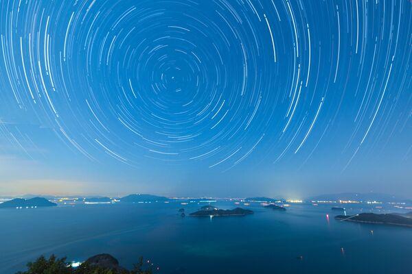 Il cielo stellare a Takamatsu, Giappone. - Sputnik Italia
