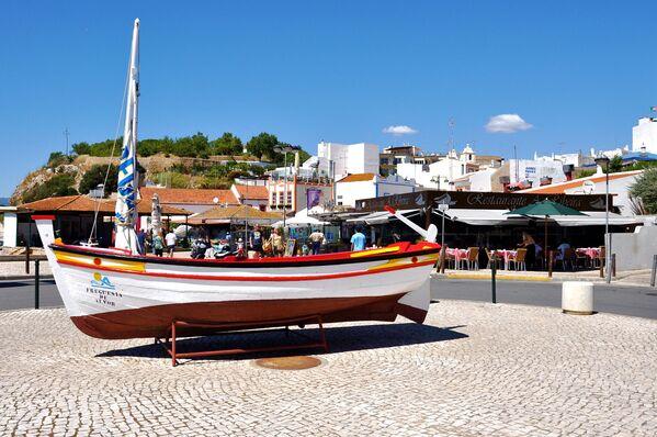 Una vista di Alvor in Portogallo. - Sputnik Italia