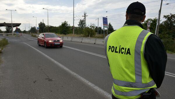 Polizia slovacca (foto d'archivio) - Sputnik Italia