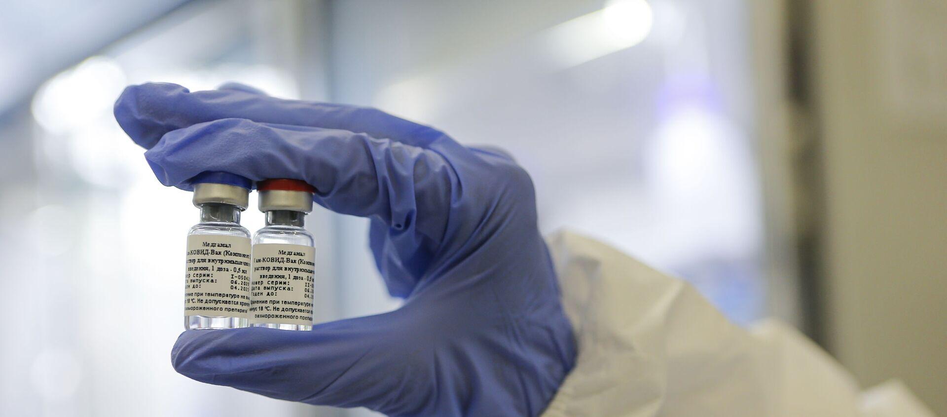 Produzione del vaccino russo contro il coronavirus - Sputnik Italia, 1920, 09.02.2021