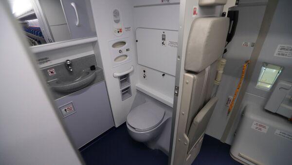 La toilette di un aereo - Sputnik Italia