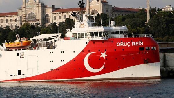 La nave turca Oruc Reis - Sputnik Italia