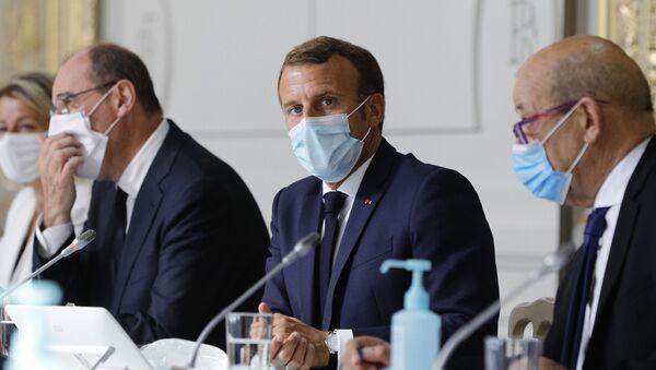 Presidente francese Emmanuel Macron - Sputnik Italia