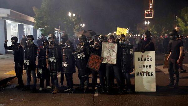 Proteste a Portland - Sputnik Italia