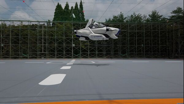 Test macchina volante SkyDrive - Sputnik Italia